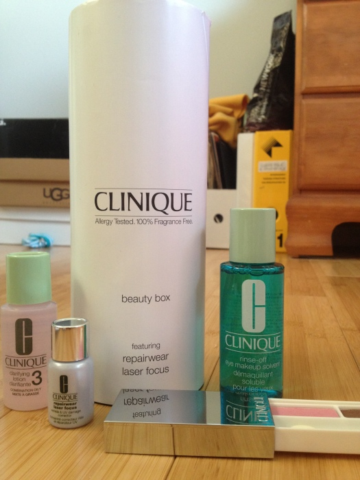 The January Prive Box: Clinique!