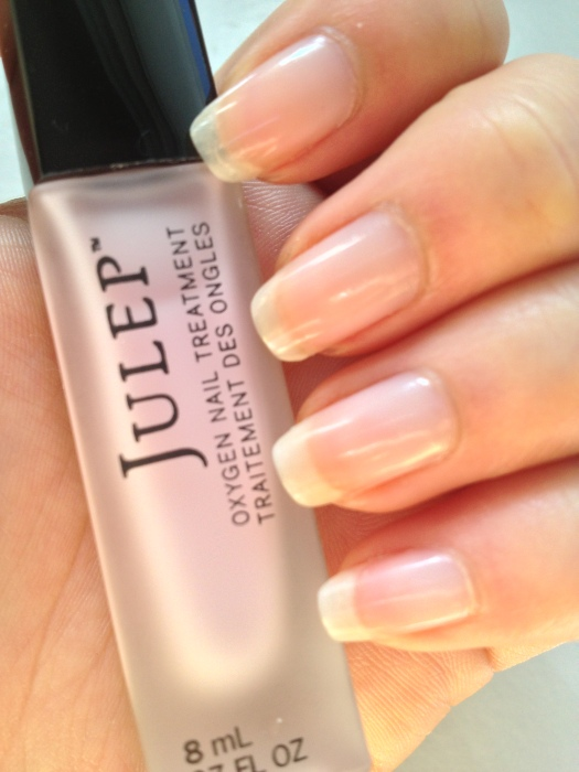 Julep Oxygen Nail Treatment in natural light