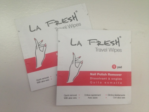 LA Fresh Nail Polish Remover Wipes - 2 ($1.33)