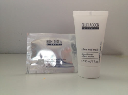 Blue Lagoon Rich Nourishing Cream - 2mL ($8.67) & Blue Lagoon Silica Mud Mask - 30mL ($15.00)