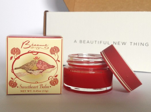Besame Sweetheart Balm in Tangerine ($18)