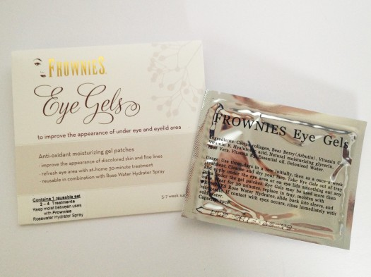 Frownies Eye Gels ($0)