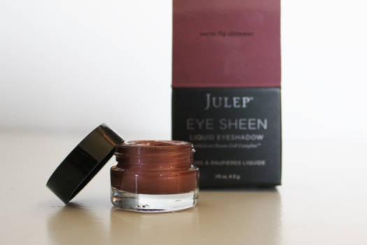 Julep Eye Sheen Liquid Shadow in Warm Fig Shimmer